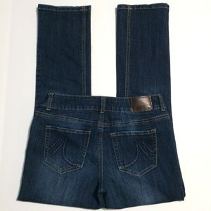 Maurices Jeans Ladies Size 7/8 Short Straight Leg